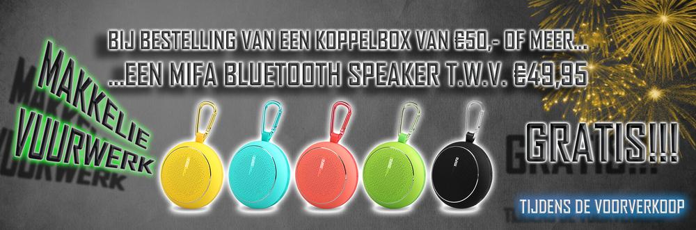 Makkelie Vuurwerk Webshop Vuurwerk Bestellen gratis speaker