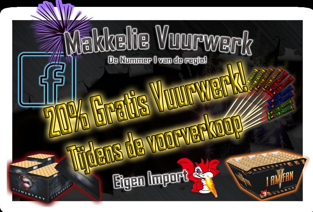 Makkelie Vuurwerk Badhoevedorp Vijfhuizen Haarlem gratis vuurwerk